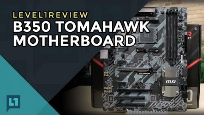Embedded thumbnail for MSI B350 Tomahawk Review & Linux Test