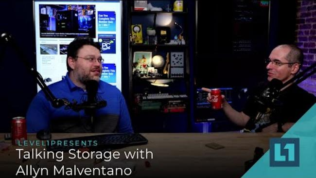 Embedded thumbnail for Talking Storage with Allyn Malventano