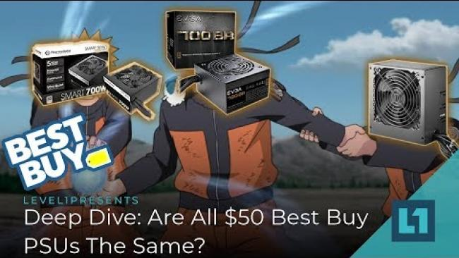 Embedded thumbnail for Deep Dive: Are All $50 Best Buy PSUs The Same?