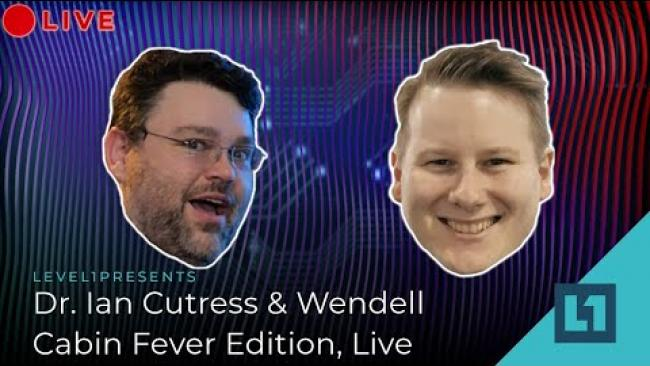 Embedded thumbnail for Live Q&A: Cabin Fever w/Dr Ian Cutress