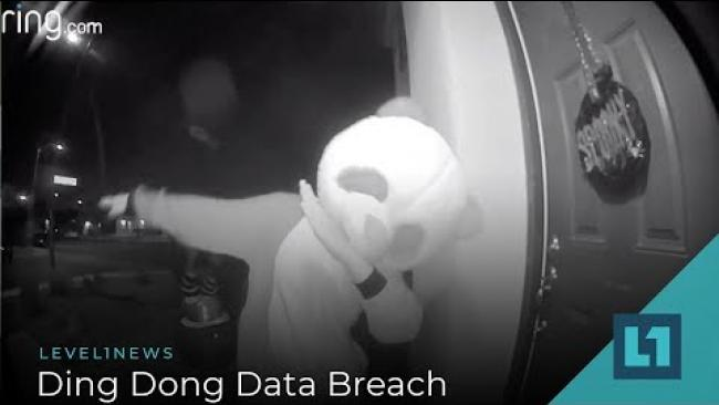 Embedded thumbnail for Level1 News November 12 2019: Ding Dong Data Breach