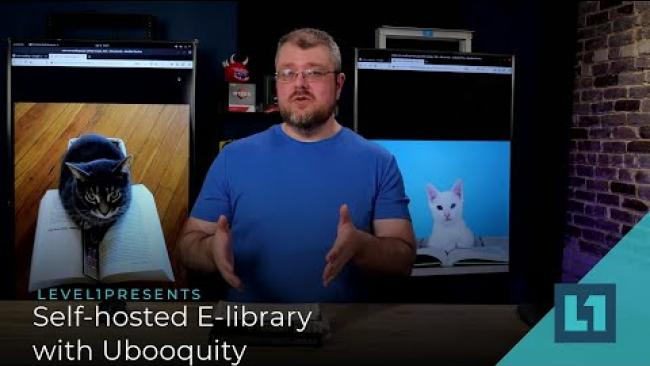 Embedded thumbnail for Self-hosted E-library with Ubooquity