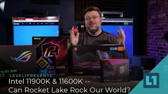Embedded thumbnail for Intel 11900K & 11600K -- Can Rocket Lake Rock Our World?
