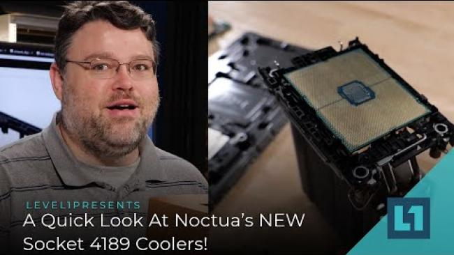 Embedded thumbnail for A Quick Look At Noctua's NEW Socket 4189 Coolers for Intel Xeon!