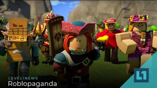 Embedded thumbnail for Level1 News July 17 2020: Roblopaganda