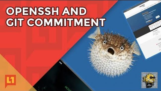Embedded thumbnail for OpenSSH and Git Commitment