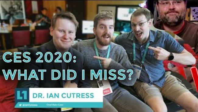 Embedded thumbnail for CES 2020: What I Missed -- Live with Dr. Cutress