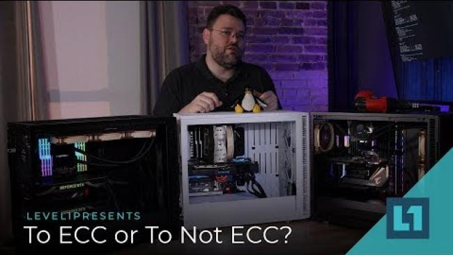 Embedded thumbnail for Memory Unleashed on Threadripper: 128gb & 2933 & ECC tested