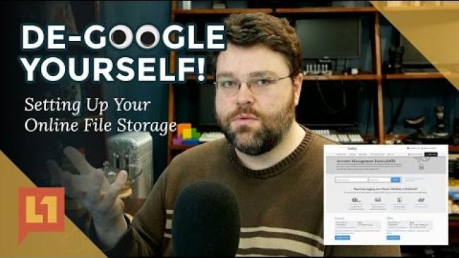 Embedded thumbnail for De-Google Yourself with NextCloud (also CPanel Intro)