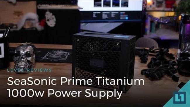 Embedded thumbnail for SeaSonic Prime Titanium 1000w Power Supply Review