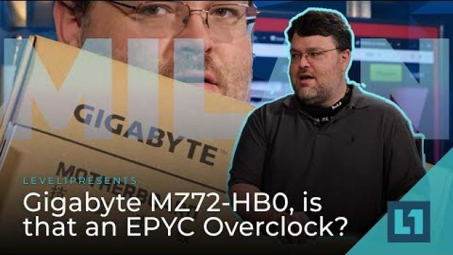 Embedded thumbnail for Gigabyte MZ72-HB0, is that an EPYC Overclock?