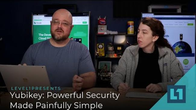 Embedded thumbnail for Yubikey: Powerful Security Made Painfully Simple