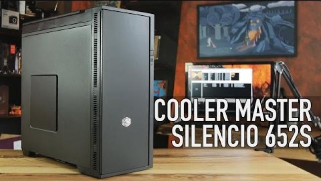Embedded thumbnail for Cooler Master Silencio 652S Silent Case Overview