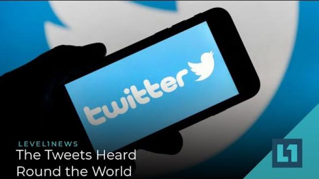 Embedded thumbnail for Level1 News June 2 2020: The Tweets Heard Round the World