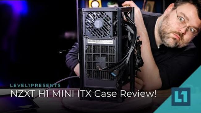 Embedded thumbnail for NZXT H1: Monolithic ITX Form Factor