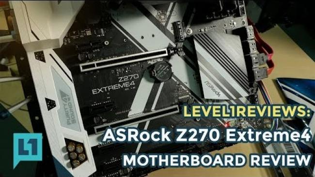 Embedded thumbnail for ASRock Z270 Extreme First Look