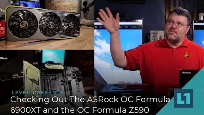 Embedded thumbnail for Checking Out The ASRock OC Formula 6900XT and the OC Formula Z590