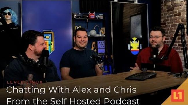 Embedded thumbnail for Chatting With Alex and Chris From The Self Hosted Podcast!