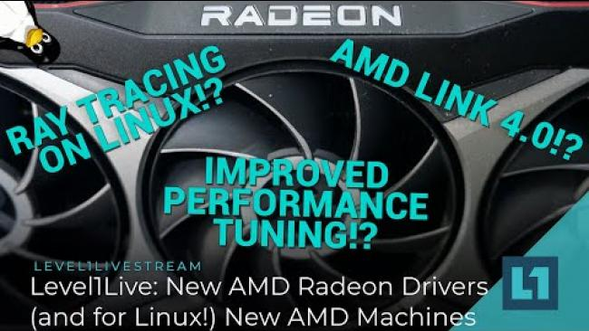 Embedded thumbnail for AMD New Drivers 4/2021 - And Other News