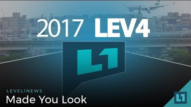 Embedded thumbnail for Level1 News May 16 2018: Made You Look