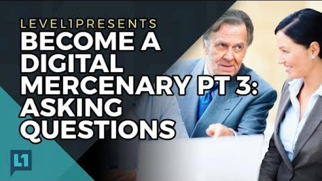 Embedded thumbnail for Become a Digital Mercenary Part 3: Asking Questions