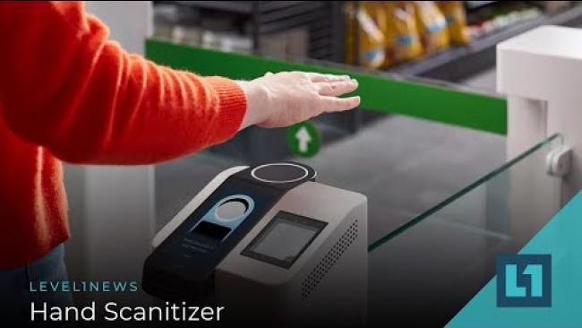 Embedded thumbnail for Level1 News October 7 2020: Hand Scanitizer