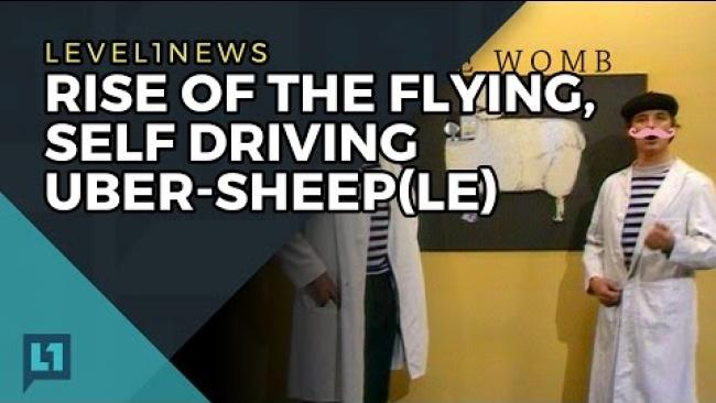 Embedded thumbnail for L1News: 2017-05-02: Rise of the Flying, Self-Driving Sheeple