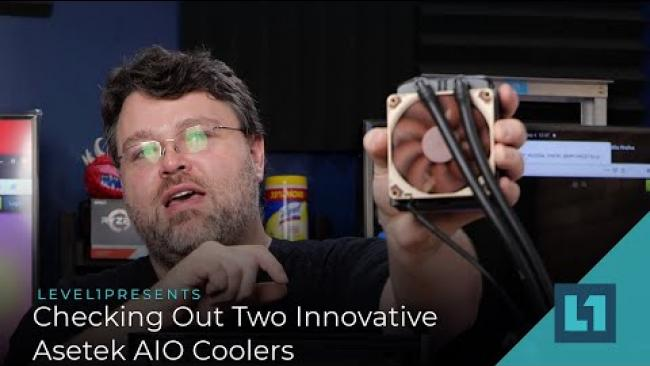 Embedded thumbnail for The Tiniest AIO We've Ever Seen: Checking Out Two Innovative Asetek AIO Coolers