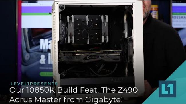 Embedded thumbnail for Our 10850K Build Featuring The Z490 Aorus Master from Gigabyte!