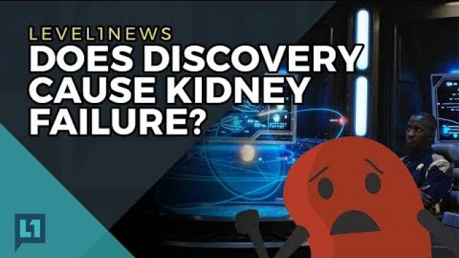 Embedded thumbnail for Level1 News November 14 2017: Does Discovery Cause Kidney Failure?
