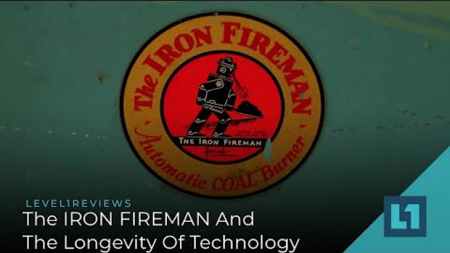 Embedded thumbnail for The IRON FIREMAN And The Longevity of Technology