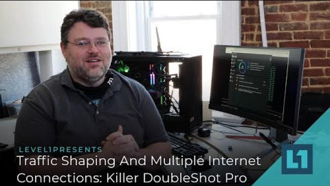 Embedded thumbnail for Traffic Shaping And Multiple Internet Connections: Killer DoubleShot Pro