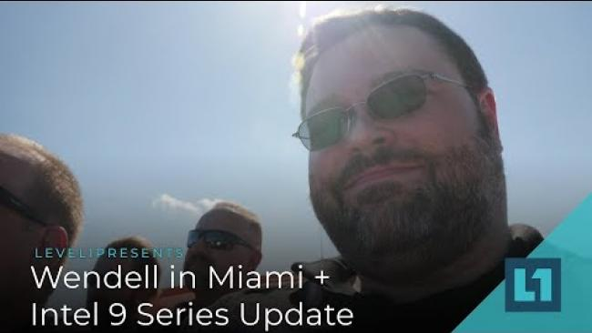 Embedded thumbnail for Intel 9900K Miami Launch + RTX 2080Ti preview (Vloggish)