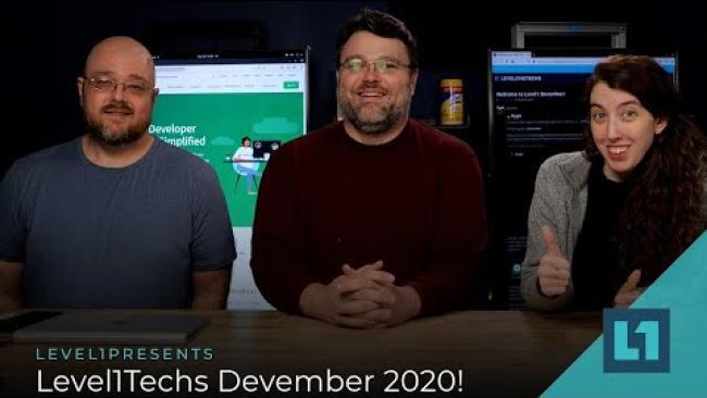 Embedded thumbnail for Level1Techs Devember 2020!