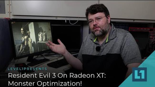 Embedded thumbnail for Resident Evil 3 On 5500XT 5600XT and 5700XT: Monster Optimization!