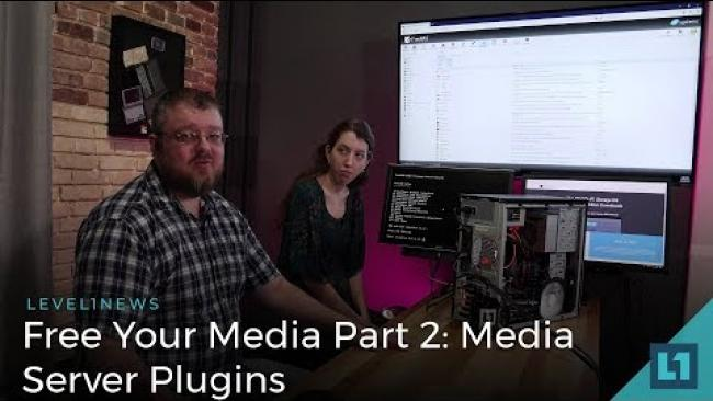 Embedded thumbnail for Free Your Media: How to Build a Home Media Server Part 2 - Plex and other FreeNAS Plugins
