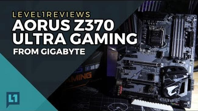 Embedded thumbnail for Aorus Z370 Ultra Gaming Review for 8th Gen Coffee Lake CPUs