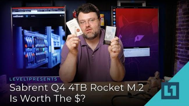 Embedded thumbnail for Sabrent Q4 4TB Rocket - Is Worth The $?