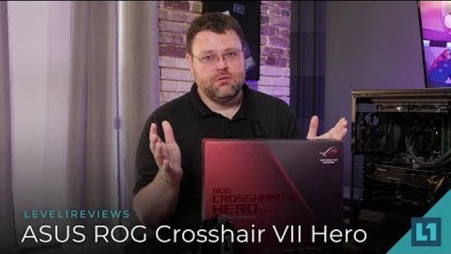 Embedded thumbnail for ASUS ROG Crosshair VII Hero Wi-Fi X470 Motherboard Review