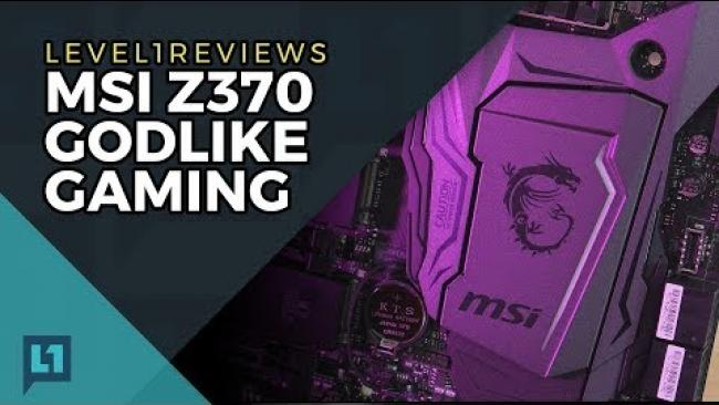 Embedded thumbnail for MSI Z370 Godlike Gaming Review + Linux Test