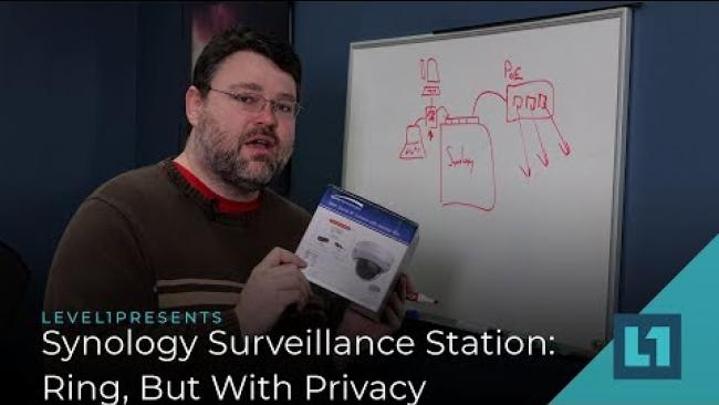 Embedded thumbnail for Synology Surveillance Station: Ring, But With Privacy