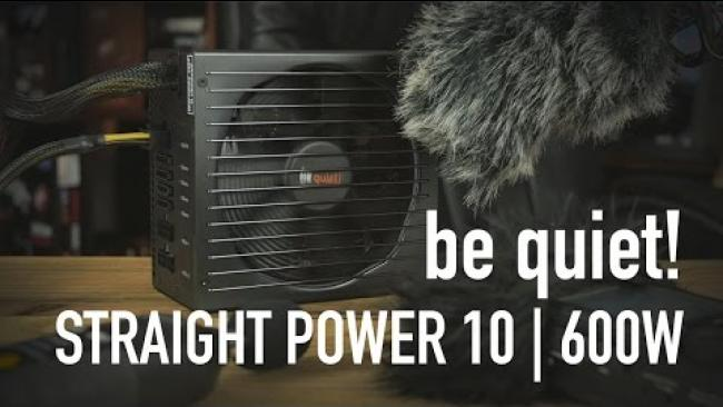 Embedded thumbnail for be quiet! Straight Power 10 | 600W Overview