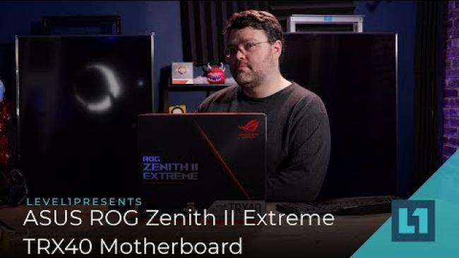 Embedded thumbnail for ASUS ROG Zenith II Extreme TRX40 Motherboard Review: Powerful Enough For Threadripper 3?