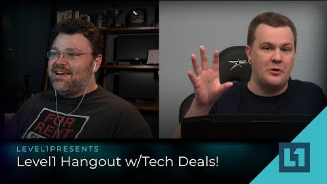 Embedded thumbnail for Level1 Hangout w/Tech Deals! Intel, Arm/Apple, and the state of the tech industry