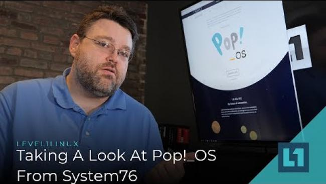 Embedded thumbnail for Taking A Look At Pop!_OS From System76