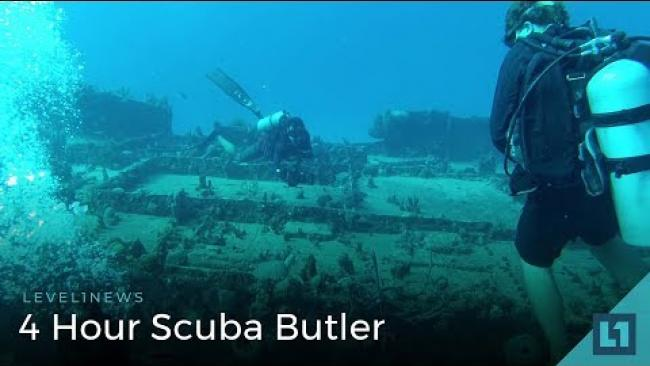 Embedded thumbnail for Level1 News May 25 2018: 24 Hour Scuba Butler