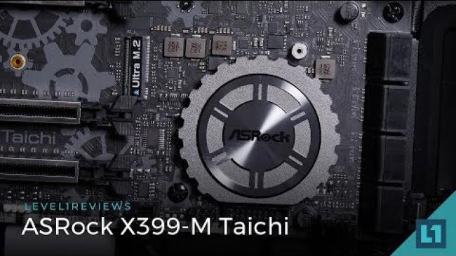 Embedded thumbnail for ASRock X399-M Taichi Review + Linux test