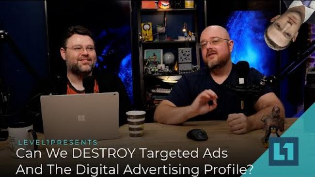 Embedded thumbnail for Can We DESTROY Targeted Advertising And The Digital Ad Profile?