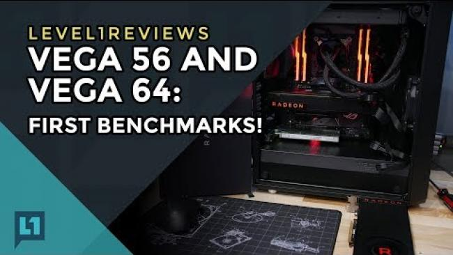 Embedded thumbnail for Radeon RX Vega 56 and Vega 64 Retail Editions: First Benchmarks (Games, Mining, Impressions)