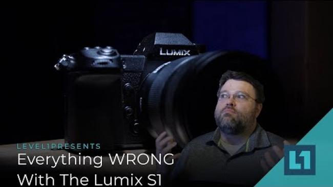 Embedded thumbnail for Everything WRONG With The Lumix S1 from Panasonic -- Firmware 1.0 bugs